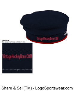 Beret Flag Cap Design Zoom